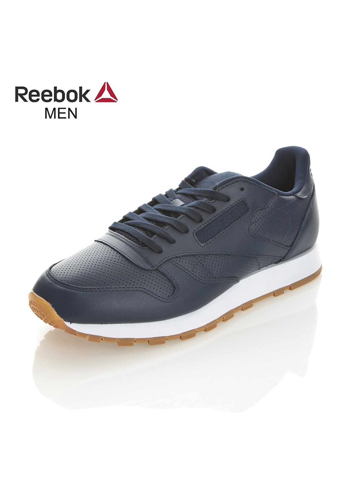 949e6f1c20e63c Reebok Erkek Cl Leather Pg Collegiate Navy Whit